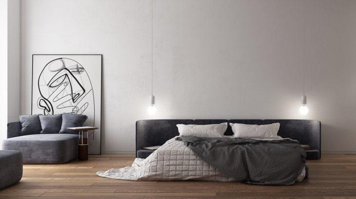 StudioPine  designed this inspiring apartment located in Kiev, Ukraine, in 201