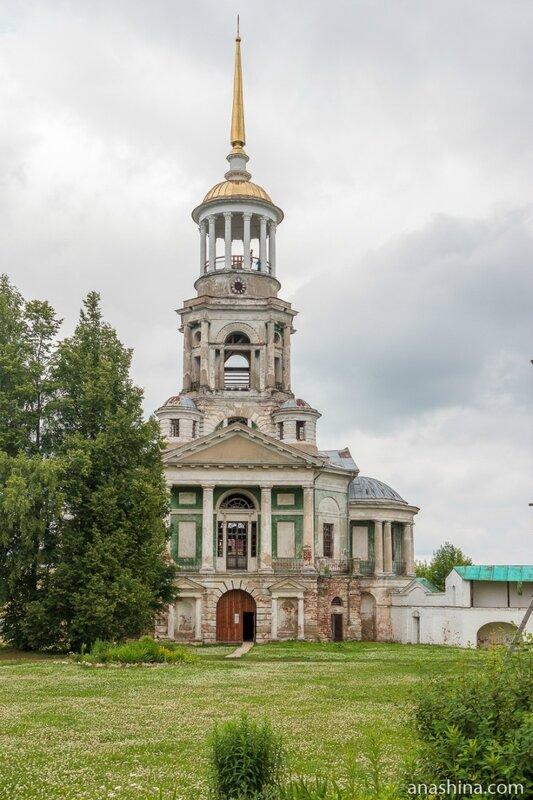 Колокольня с надвратной церковью Спаса Нерукотворного Образа