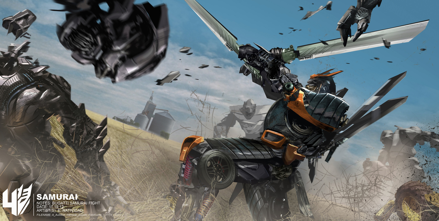 Transformers: Age of Extinction Concept Art by Ed Natividad (14 pics)