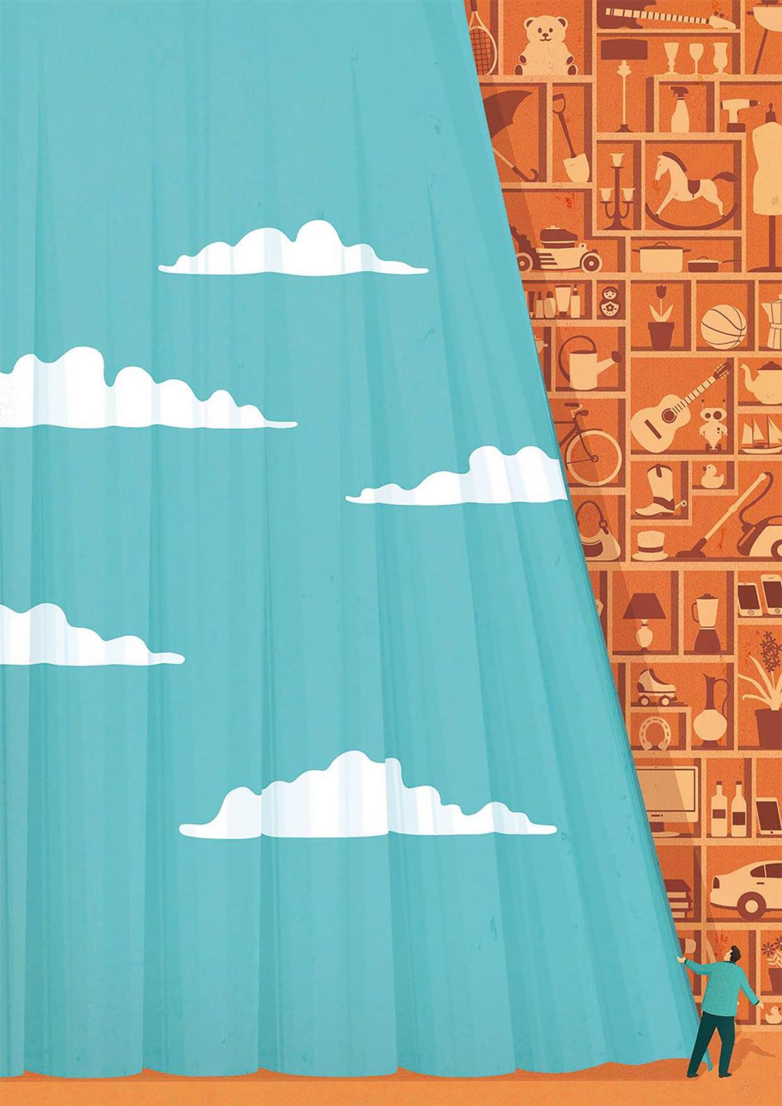 Ces illustrations satiriques offrent un regard honnete sur notre monde