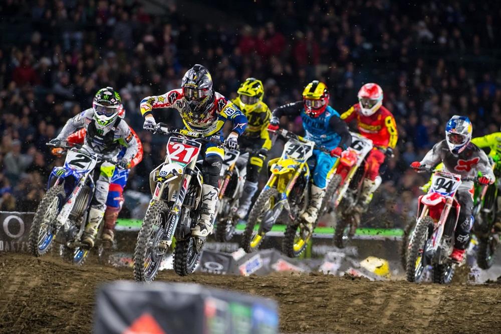 AMA Supercross 2018, этап 3 - Анахайм 2