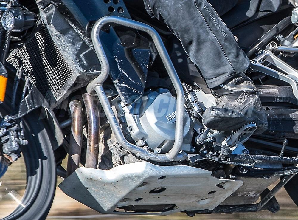 Шпионские фото BMW F850GS Adventure 2019