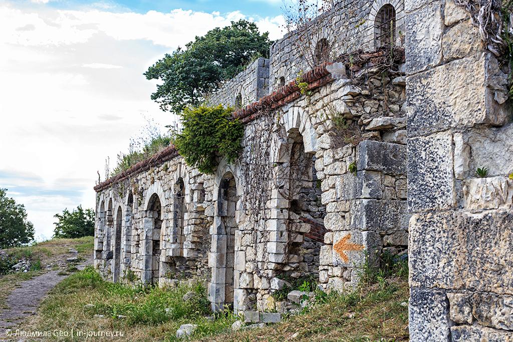 Анакопийская крепость на Иверской горе