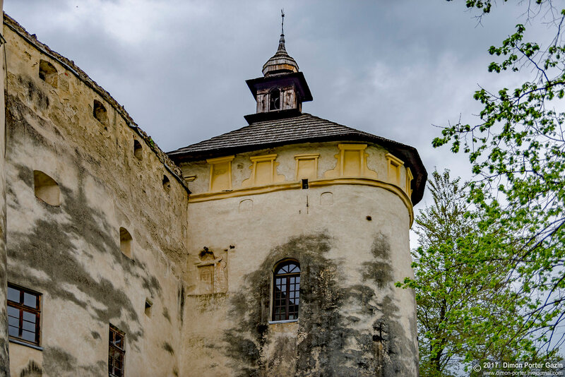 Недзица. Замок Дунаец