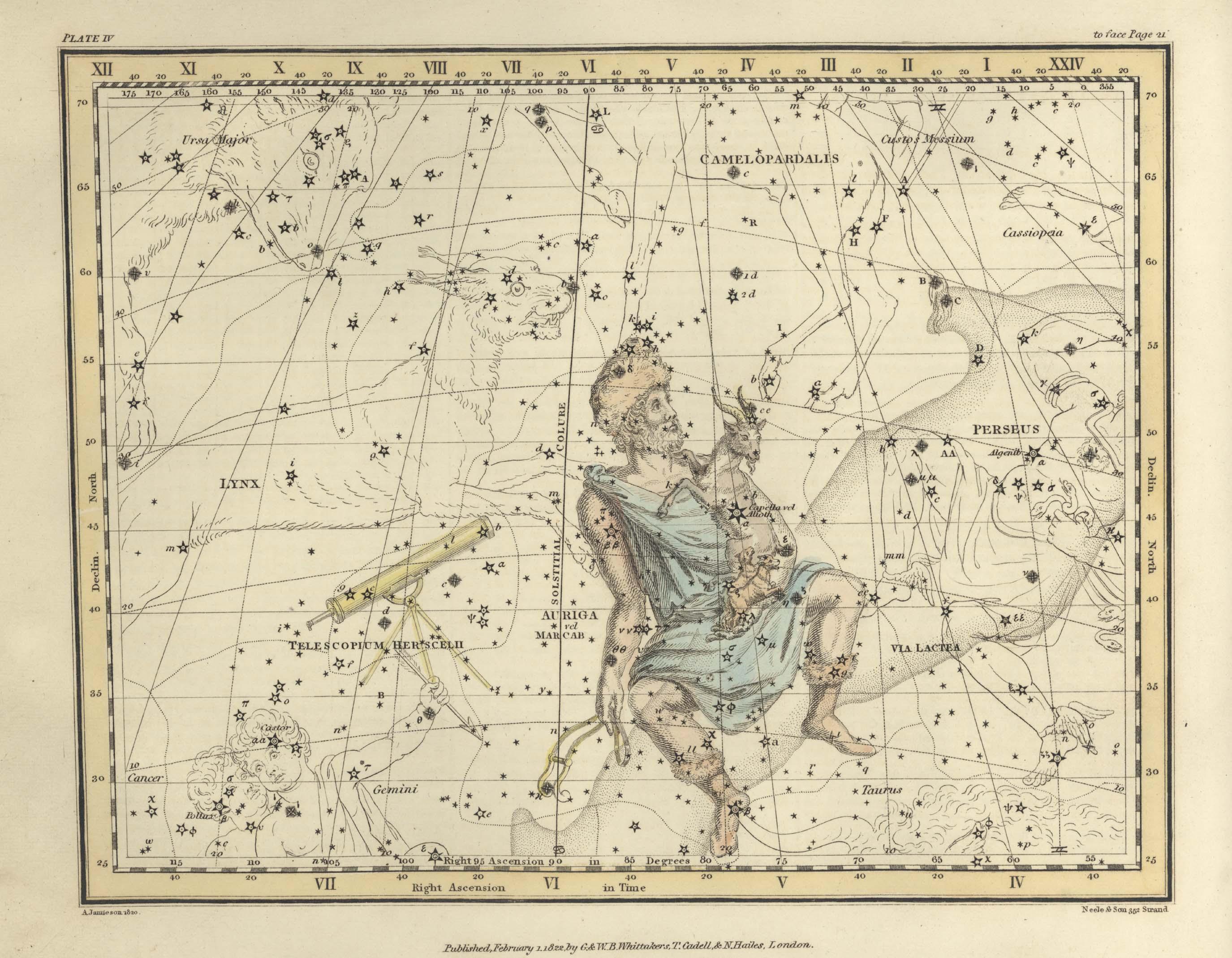 Страница №7: Возничий, Жираф и Телескоп Гершеля