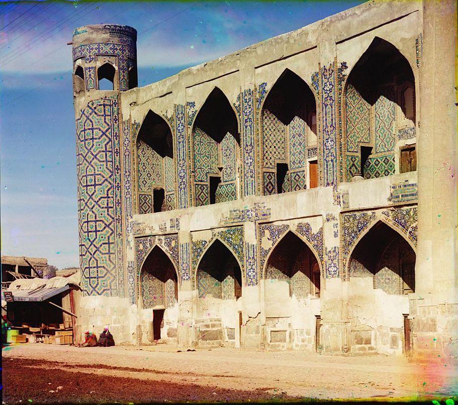 Тилля-Кари с площади Регистана