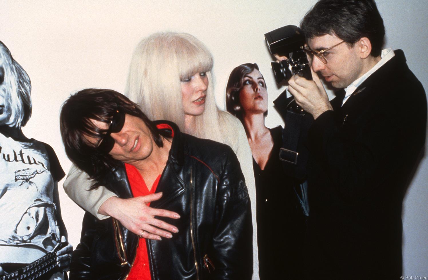 1982. Игги Поп, Дэбби Харри, Debbie Harry и Крис Стейн