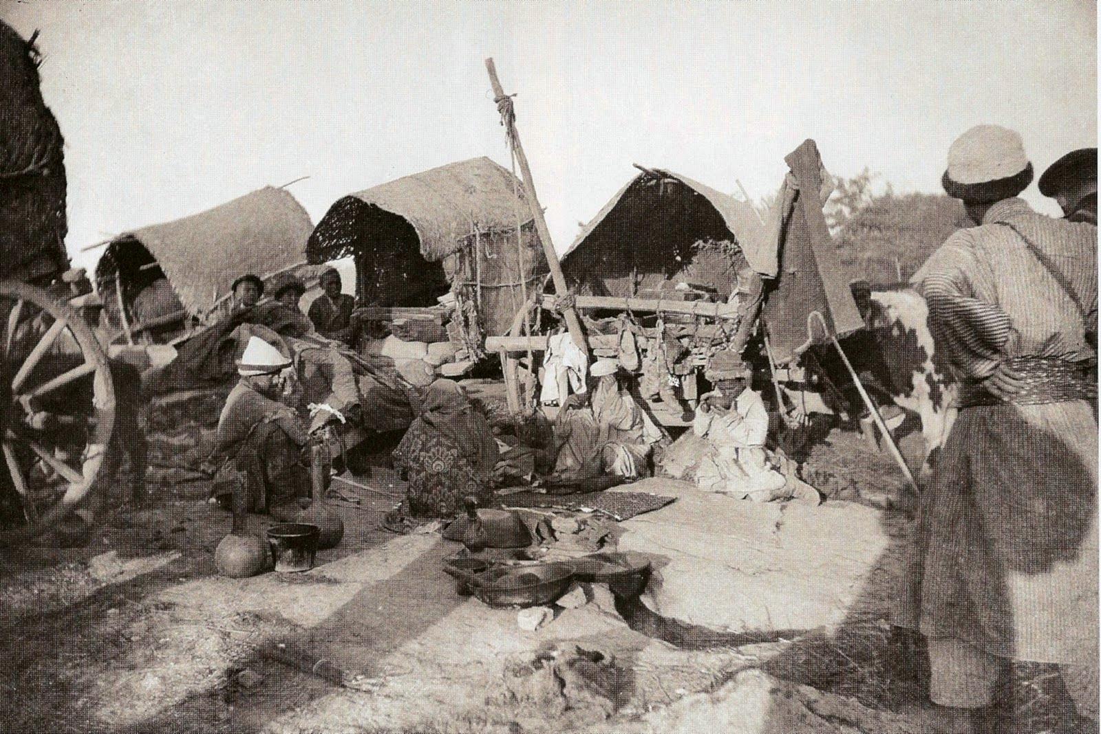 В киргизском лагере
