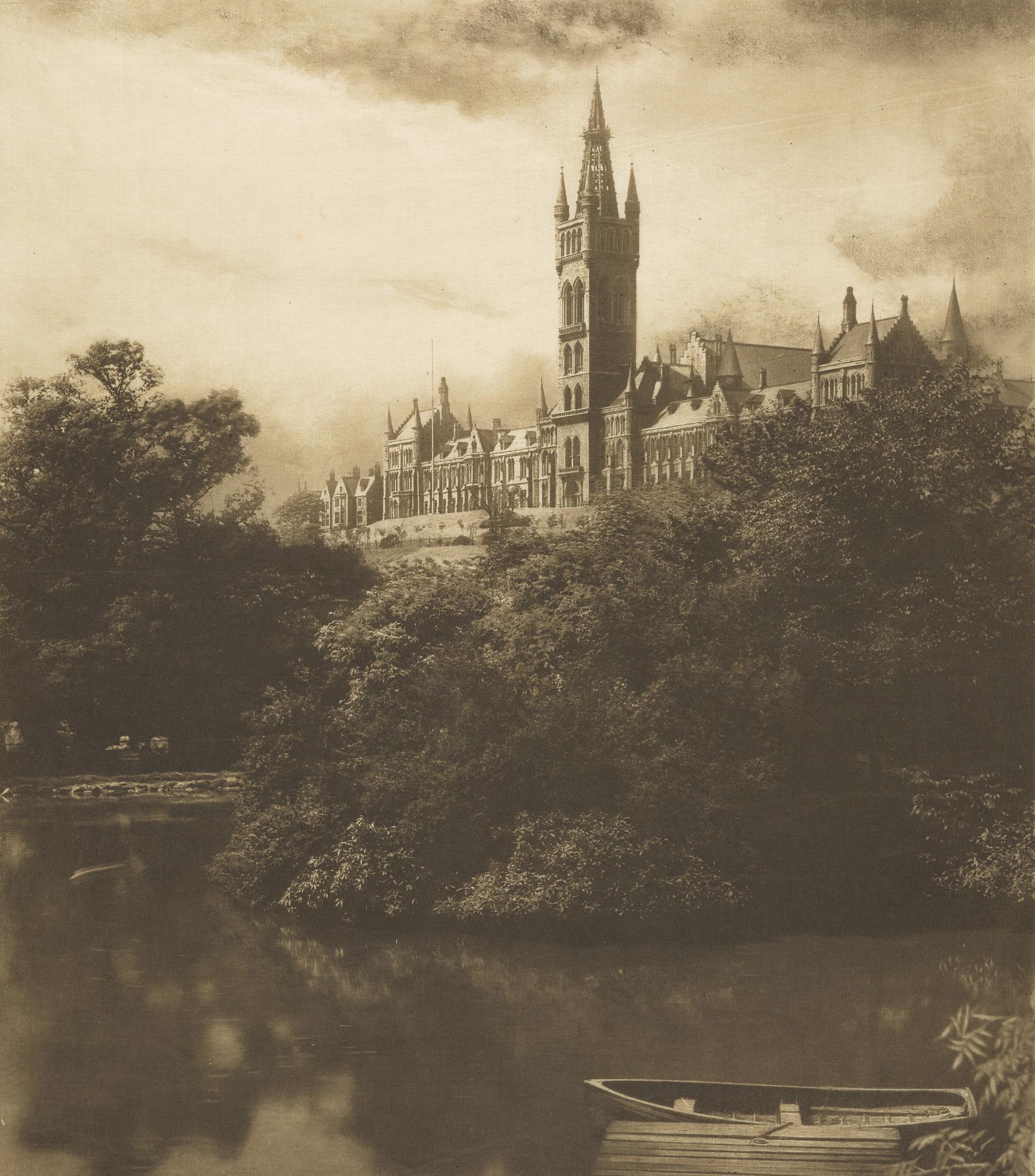 1900-е. Университет Глазго