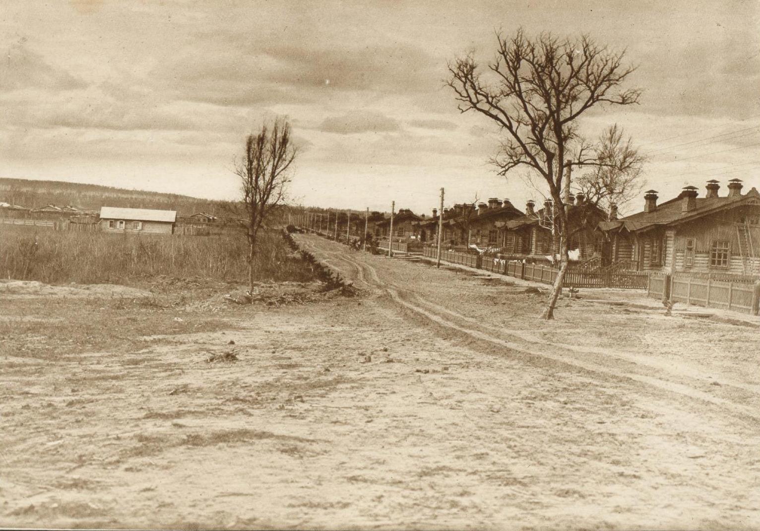 Вторая линия линия жилых домов