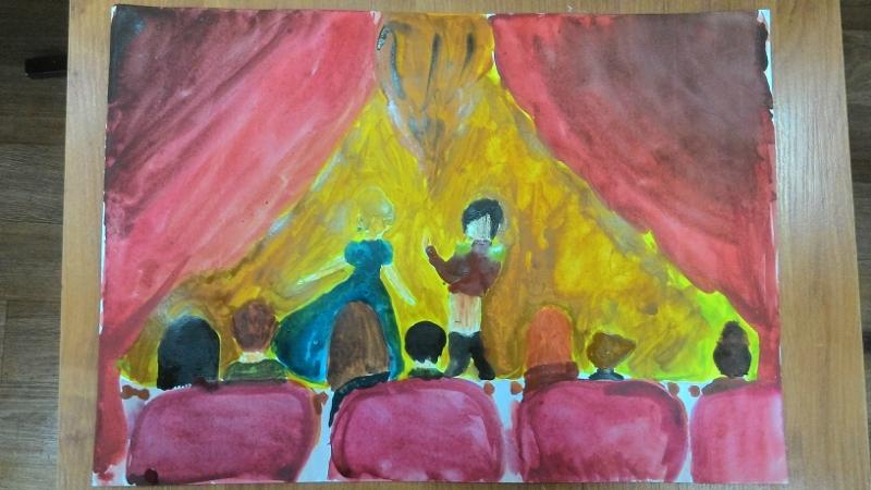Конспект совместной творческой работы по ИЗО «Домик для дедушек и ... | 450x800