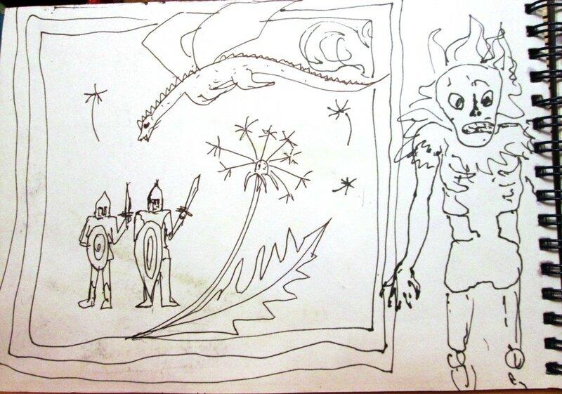квест игра престолов. скетчбук