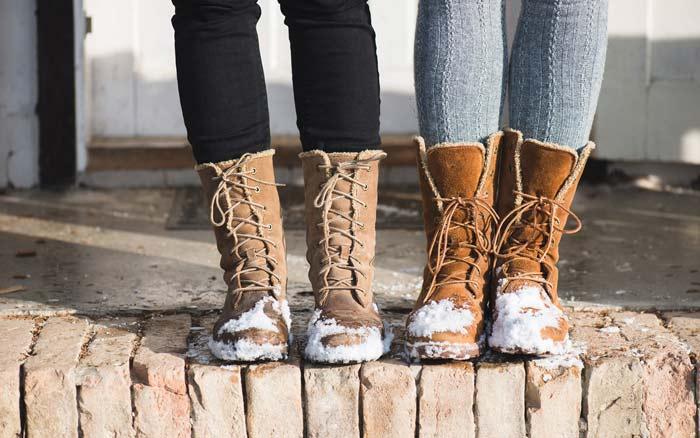 выбрать зимние ботинки