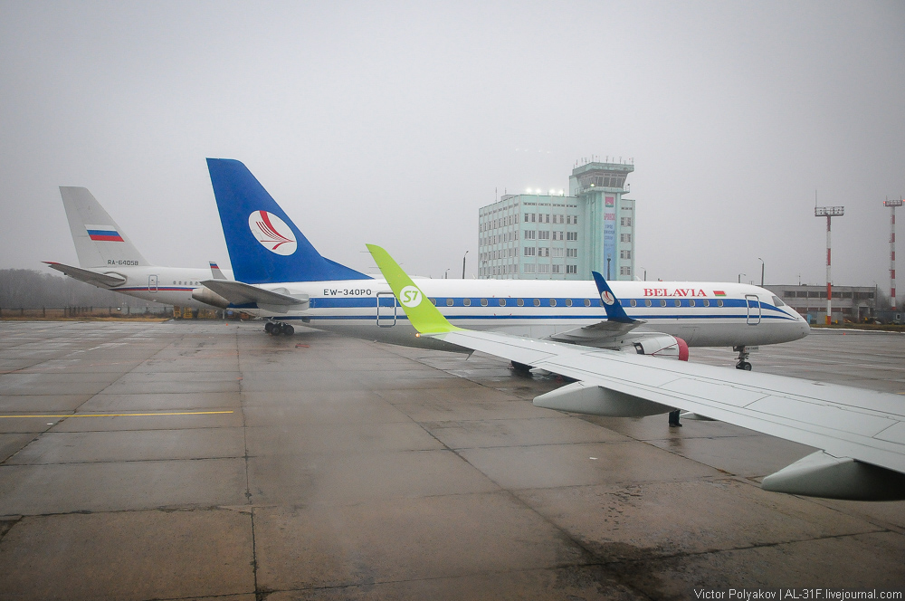 Полёт Москва - Брянск