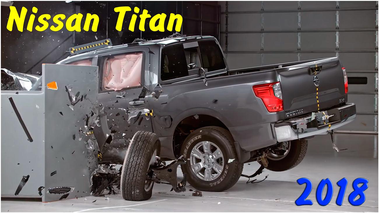 Краш тест Nissan Titan 2018