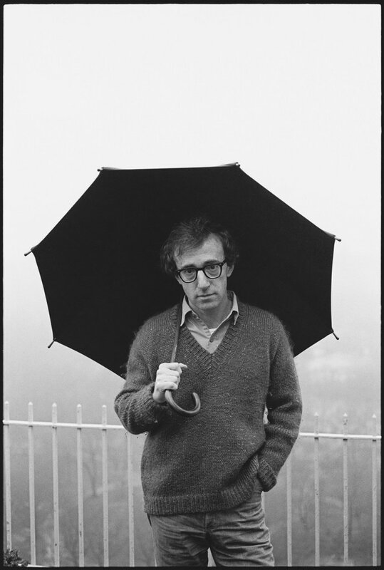 Woody Allen photographed by Mary Ellen Mark