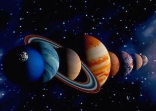 Открытки Международный день планетариев. Планеты