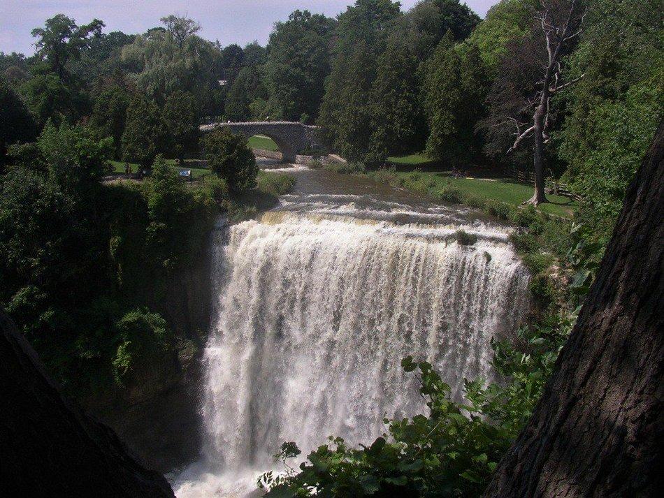 Ниагарский уступ получил свое название в честь знаменитого Ниагарского водопада. Протяженность уступ
