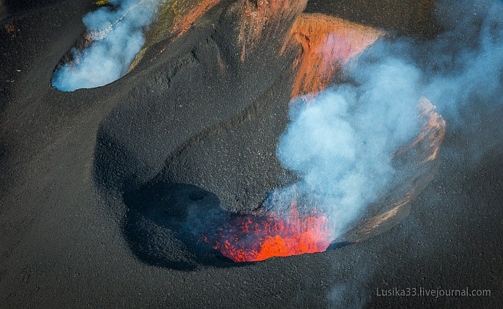 Жерло вулкана (18 фото)