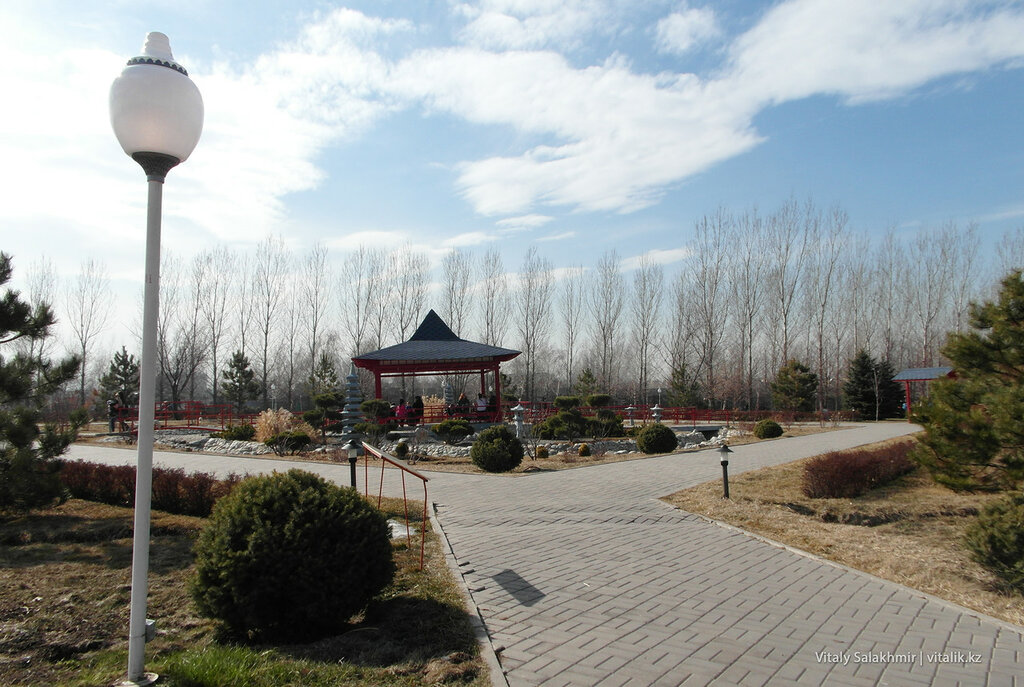 Японский сад в Парке Первого Президента