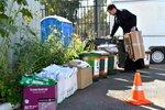 22-25 сентября на территории Петропавловского храма города Химки состоялась экологическая акция по раздельному сбору мусора