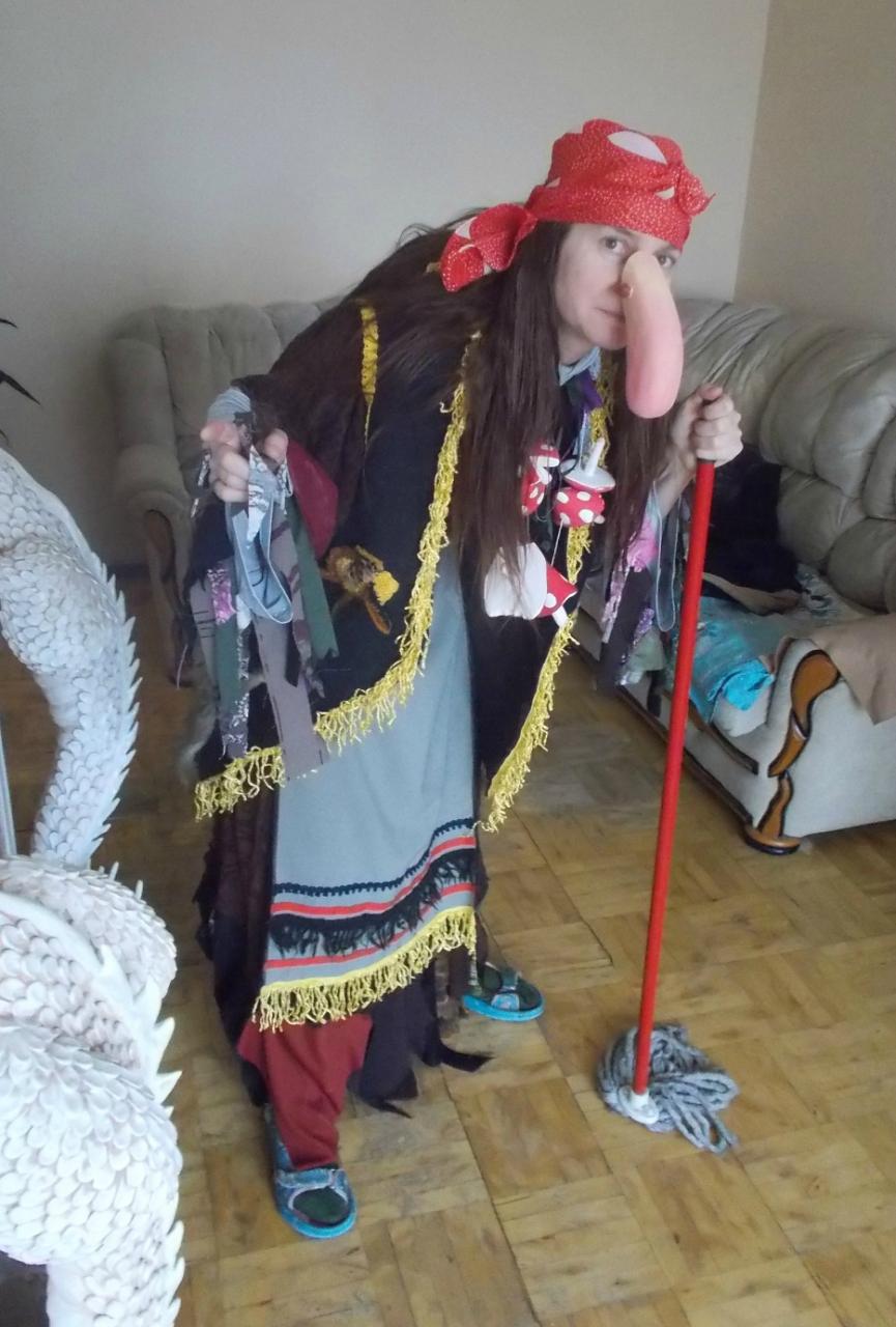 баба Яга костюм