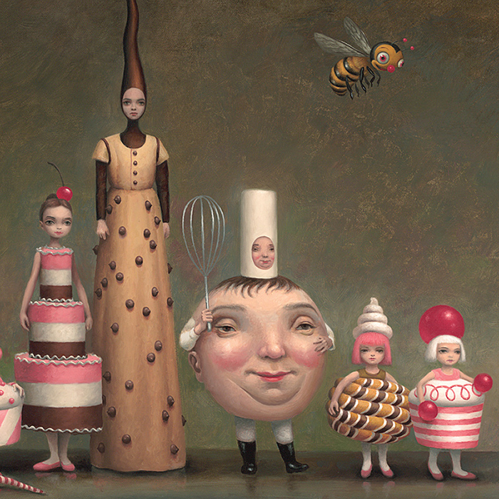 "Releases: Mark Ryden – ""Princess Praline and Her Entourage"" Print (4 pics)"