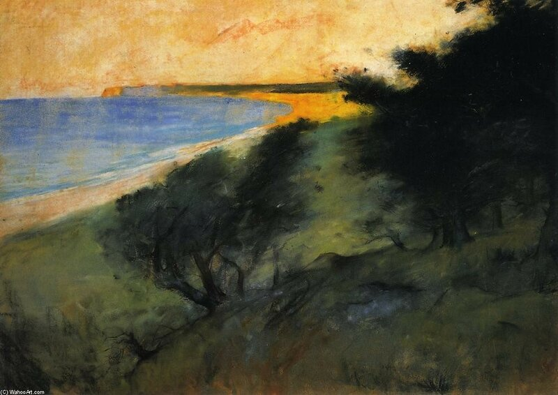Lesser Ury  -The Coast of Rugen