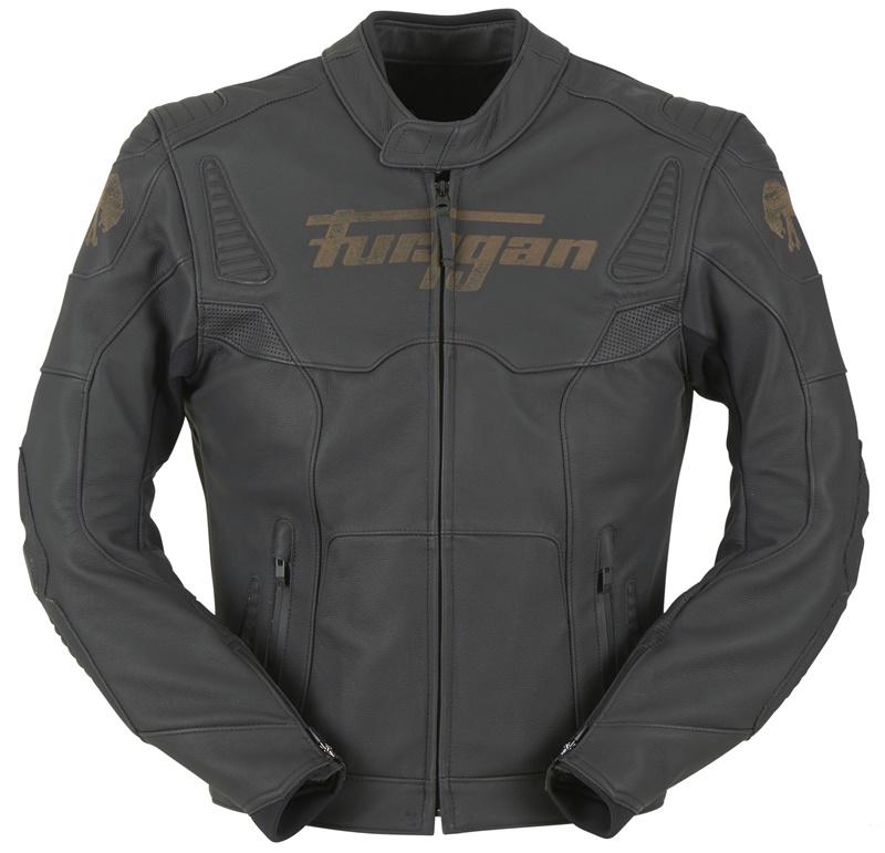 Кожаная мотокуртка Furygan для зимы