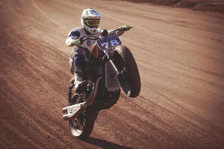Standard Motorcycle Co.: флэт-трекер Harley-Davidson XG750