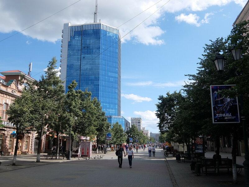 Челябинск - Кировка