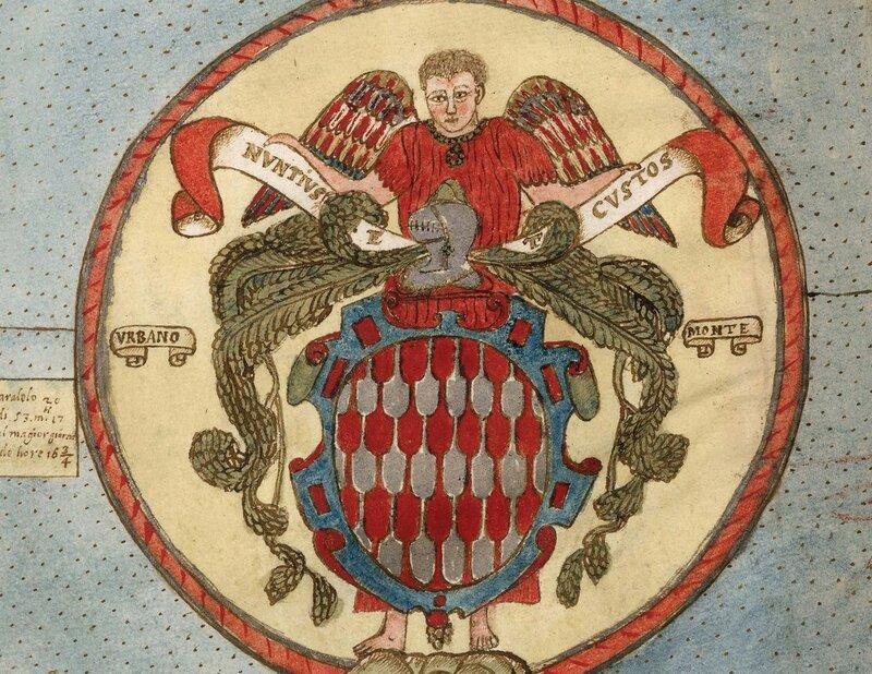 Деталь Тавола (герб семьи Урбано Монте)