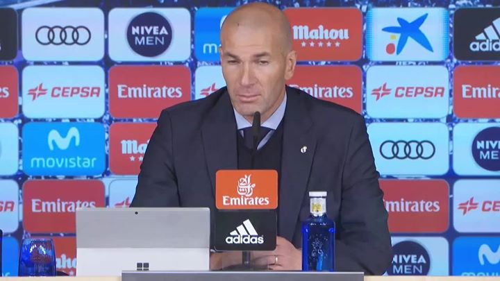 Zidane insists La Liga season isn't over despite defeat