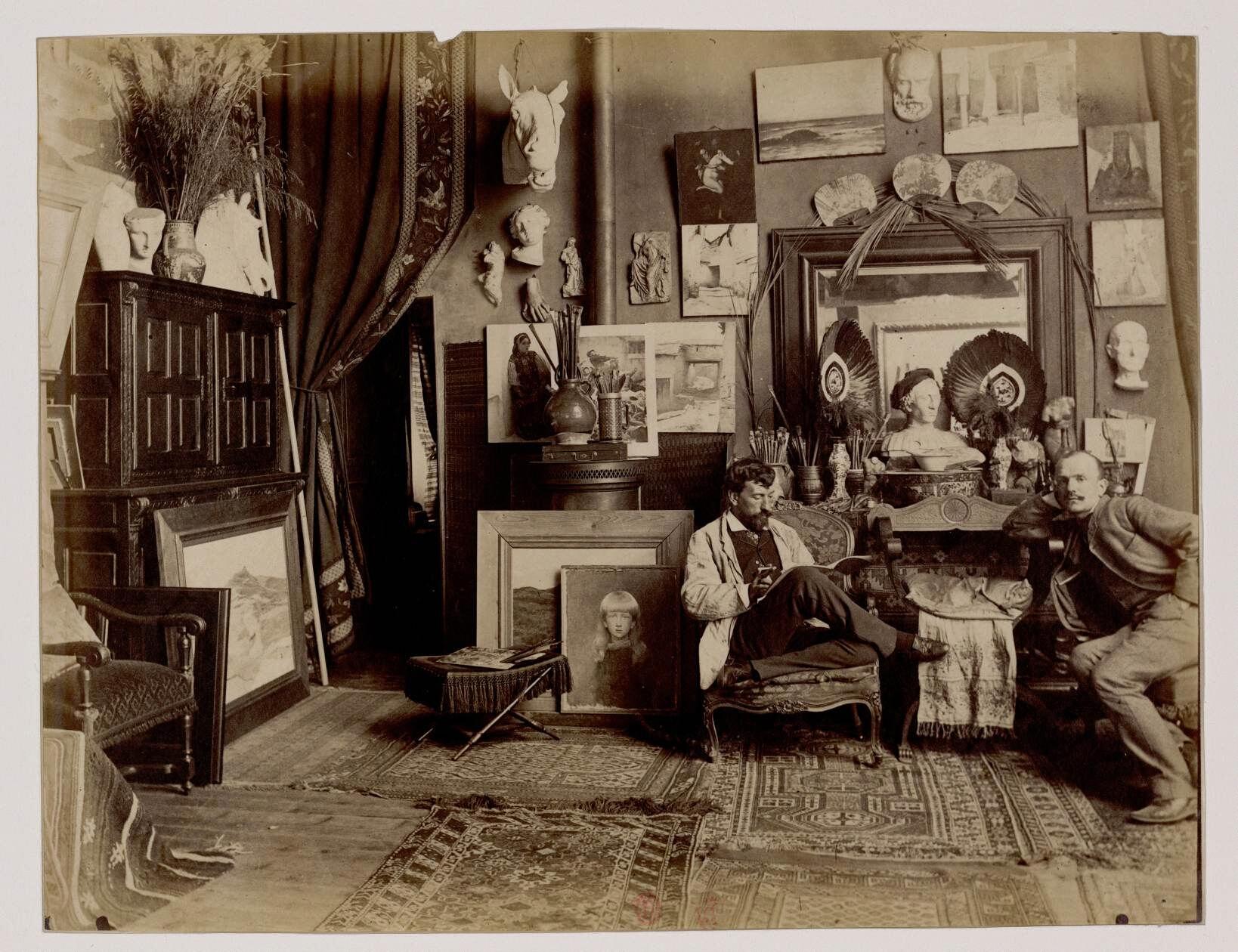 Луи-Морис Буте де Монвель ( (1850-1915) - Французский художник иллюстратор