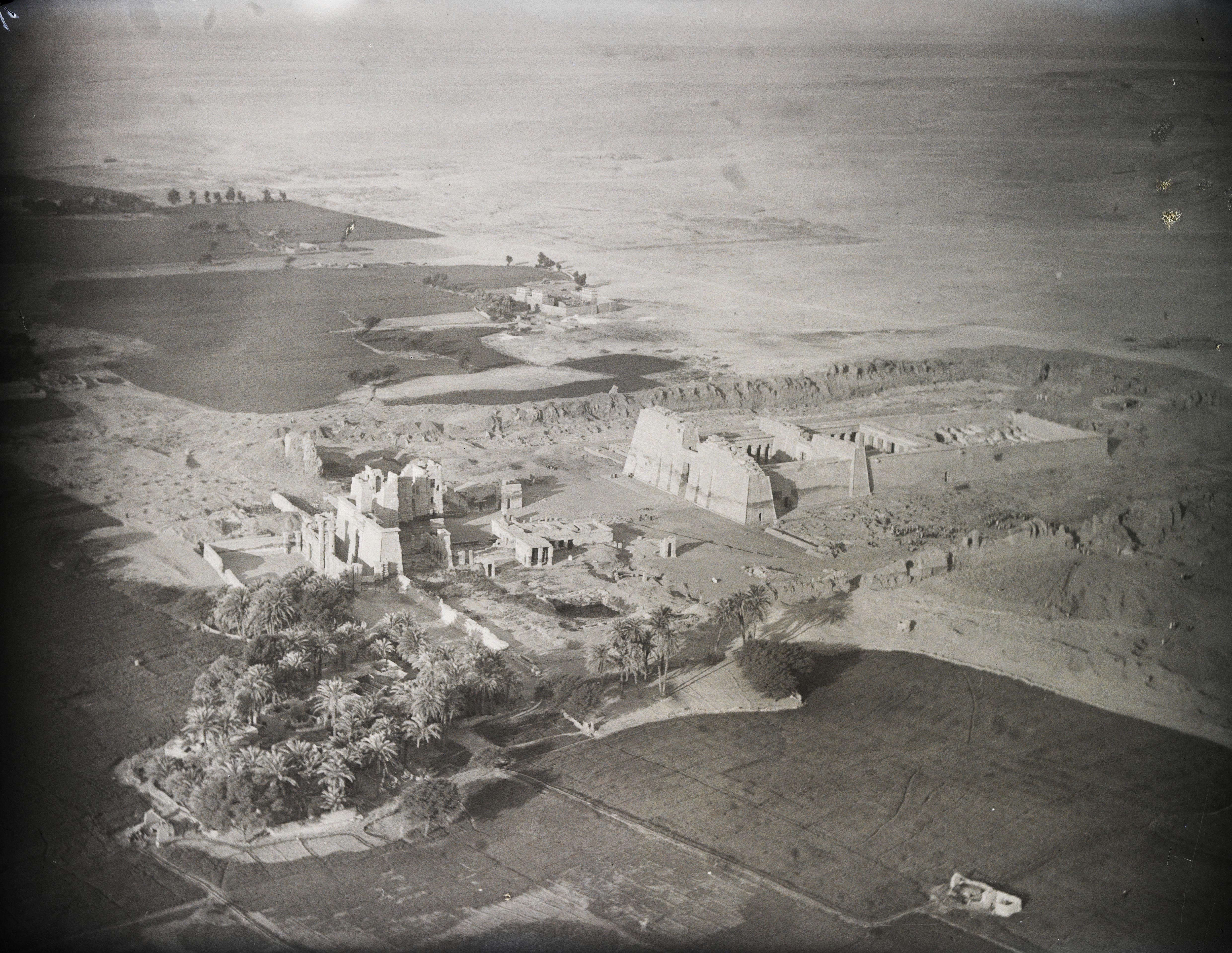 Фивы. Заупокойный храм Рамсеса III