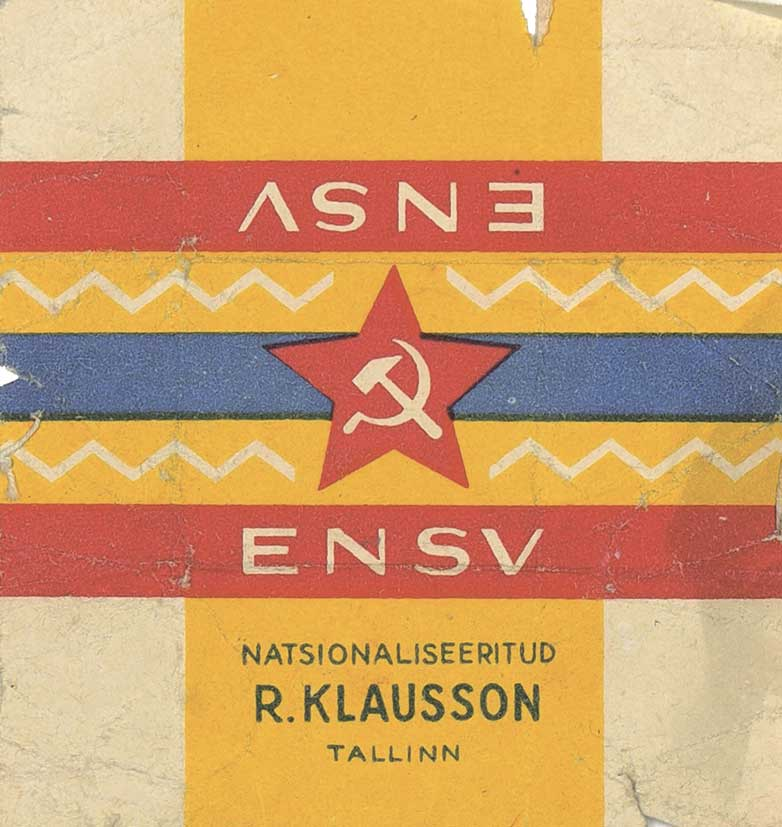 Таллин. Клауссон. ENSV. 1940.