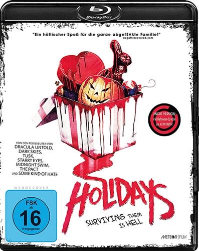 Черные праздники / Holidays (2016/BDRip/HDRip)