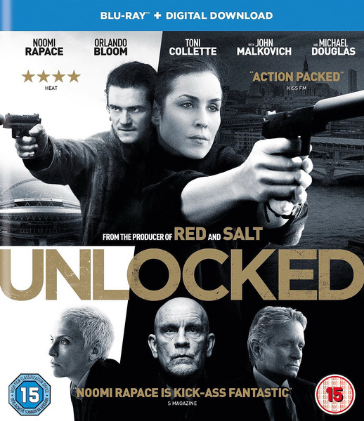 Секретный агент / Unlocked (2016/BDRip/HDRip)