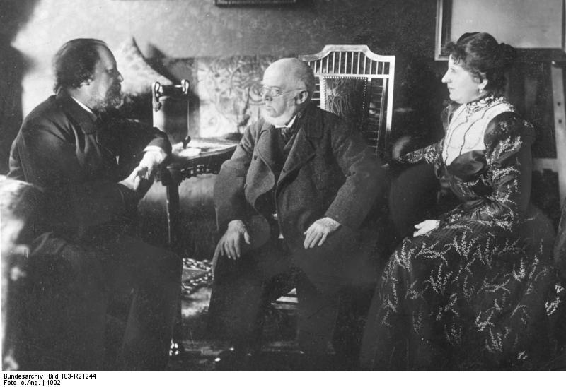 Mьnchen, Adolph von Menzel und Paul Heyse