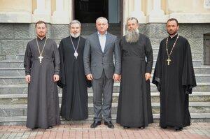 Vizita președintelui Igor Dodon în reședința episcopală din Bălți