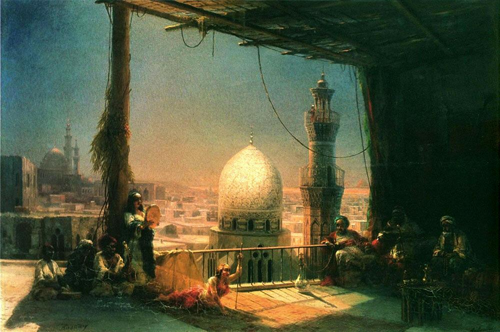 Сцены из каирской жизни 1881 год