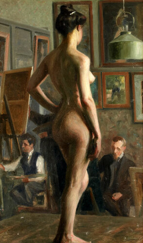 Vilhelm Holmgren In The Studio