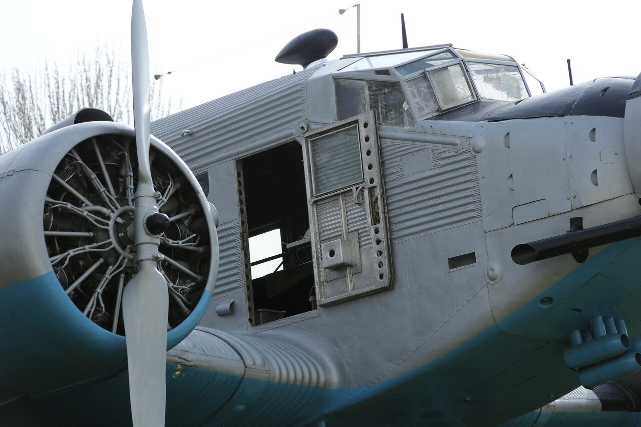 Junkers Ju 52/3m (Museo del Aire, Madrid)