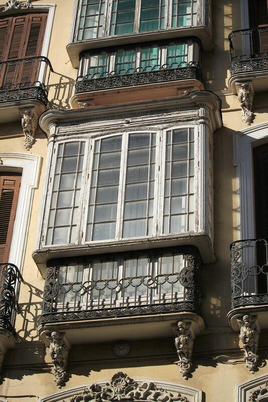 Малага. Улица Санта-Мария (Calle Santa Maria)