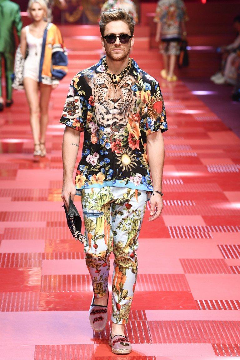 Мужской показ Dolce & Gabbana весна-лето 2018