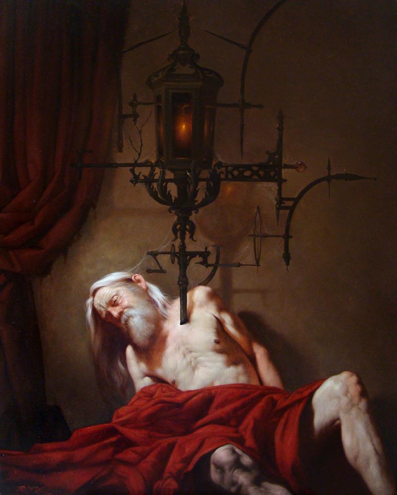 Красота и ужас: живопись Роберта Ферри