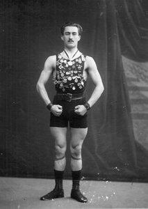 Портрет участника чемпионата Асмана. 1912