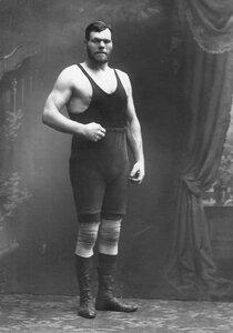 Участник чемпионата Г.Кащеев (портрет).