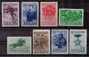1941 год. 23-я годовщина Красной Армии и Военно-Морского Флота СССР.