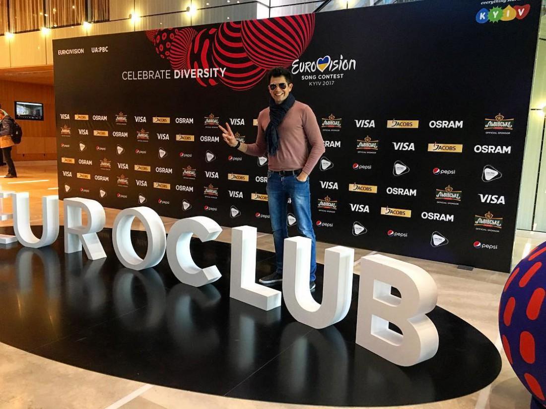 Надпись «Eurovision» вКиеве лишилась одной буквы